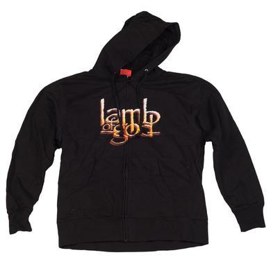 Lamb of God Vulture Zip Hoodie