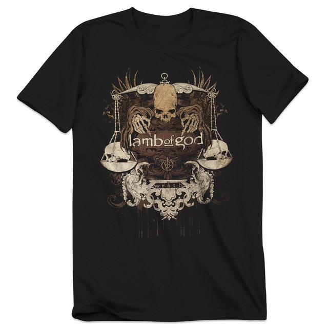 Lamb of God Dead Justice T-Shirt