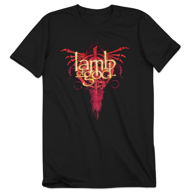 Lamb of God Logo Drip T-Shirt