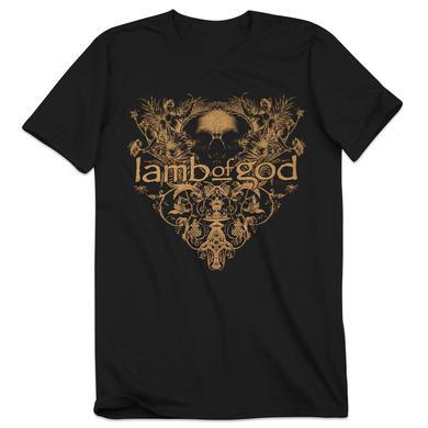 Lamb of God Skull Reflection T-Shirt