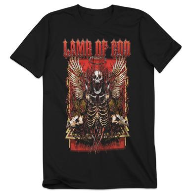 Lamb of God Winged Skeleton T-Shirt