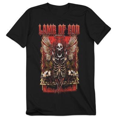 Lamb of God Winged Skeleton T-Shirt