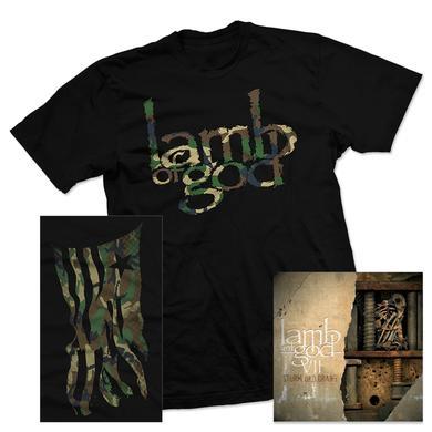 Lamb Of God VII: Sturm Und Drang T-Shirt & Album Bundle