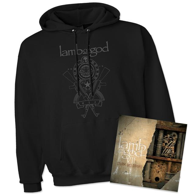 Lamb Of God VII: Sturm Und Drang Hoodie & Album Bundle