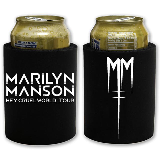 Marilyn Manson Villain Koozie