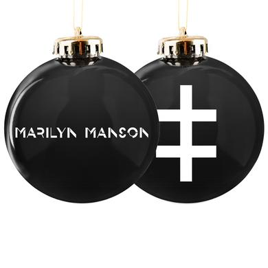 Marilyn Manson Double Cross Ornament