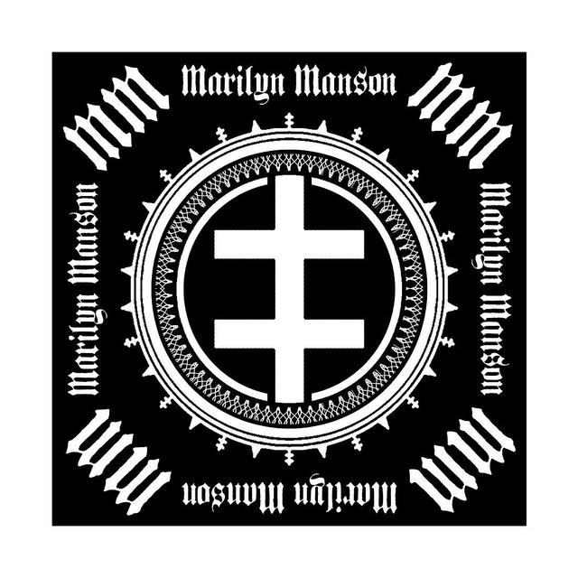 Marilyn Manson Double Cross Bandana