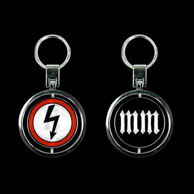Marilyn Manson Shock Spinner Keychain