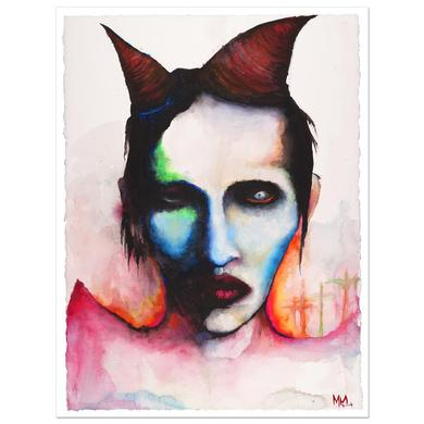Marilyn Manson Experience Is The Mistress Of Fools Print