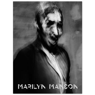 Marilyn Manson Smudge Litho