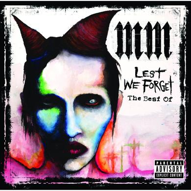 Marilyn Manson Lest We Forget - The Best Of CD