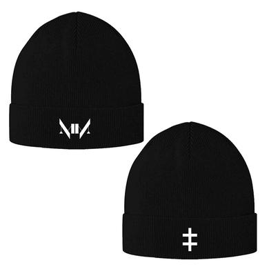 Marilyn Manson Double Cross Beanie