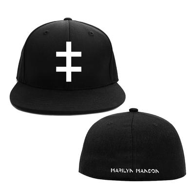 Marilyn Manson Double Cross Flex Hat