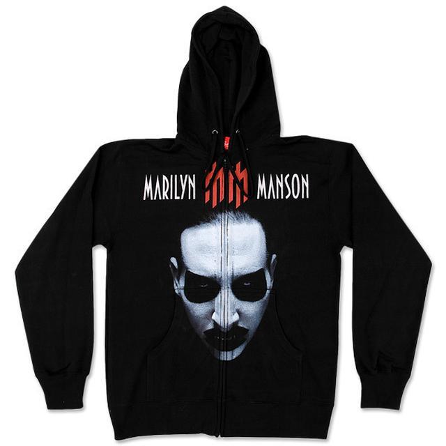 Marilyn Manson Babble Babble Zip Hoodie