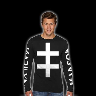 Marilyn Manson Double Cross Long Sleeve T-Shirt