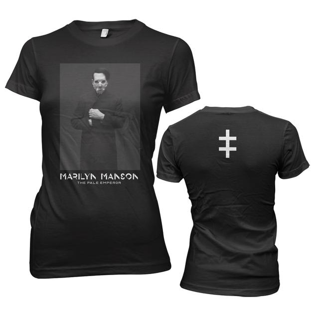 Marilyn Manson Cloaked Jr. T-Shirt