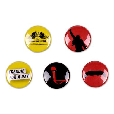 Queen Freddie For a Day Badge Set