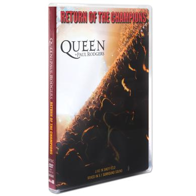 Queen Return Of The Champions DVD