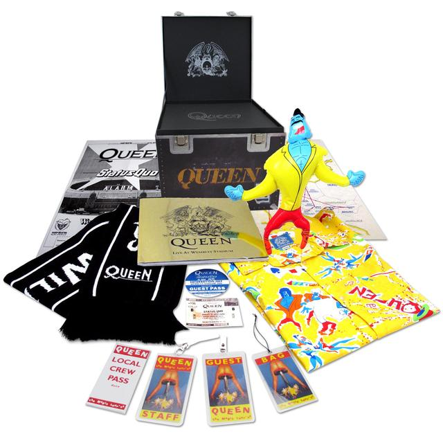 Queen Live At Wembley Stadium Super Deluxe Road Case