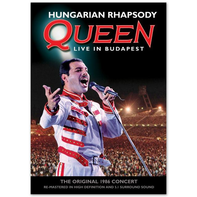 Queen Hungarian Rhapsody: Queen Live In Budapest Standard DVD