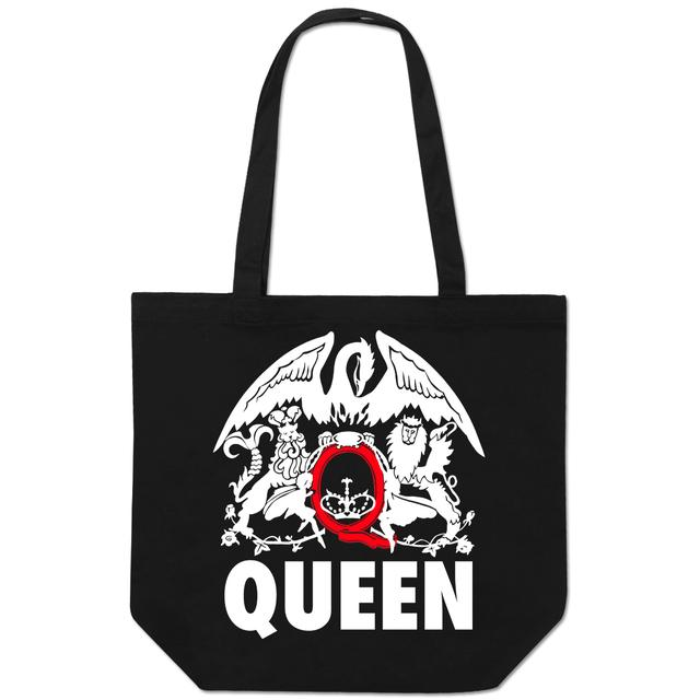 Queen Red Q Logo Tote Bag