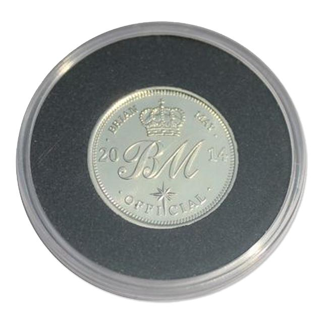 Queen Brian May Sixpence Coin