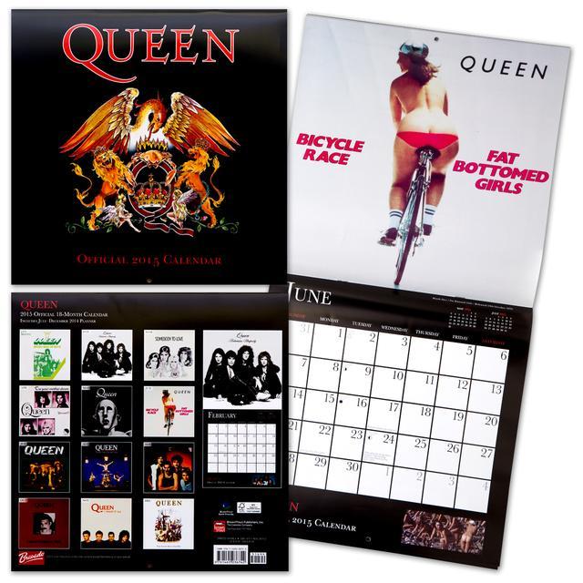 Queen 2015 Wall Calendar