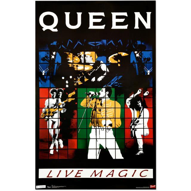 Queen Live Magic Poster