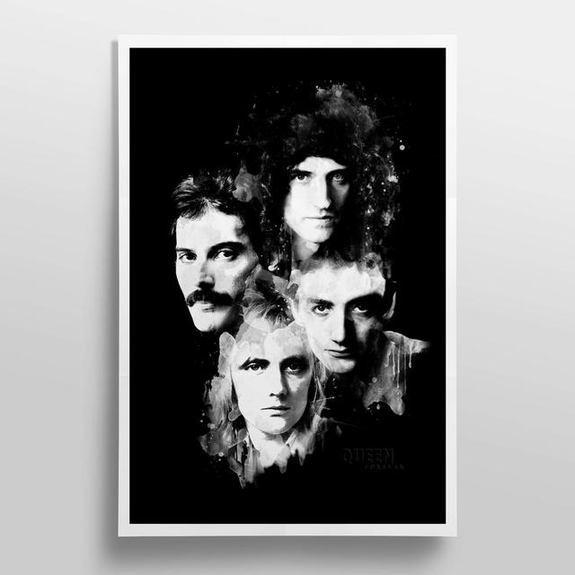 Queen Forever Lithograph
