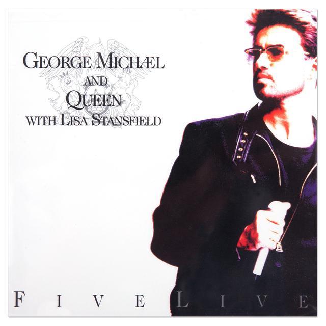 George Michael & Queen - Five Live CD