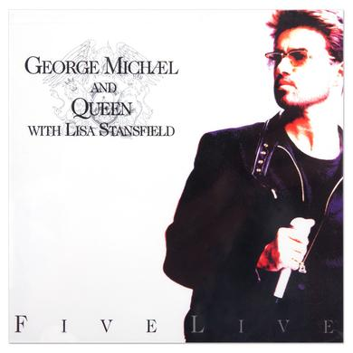 George Michael & Queen - Five Live CD