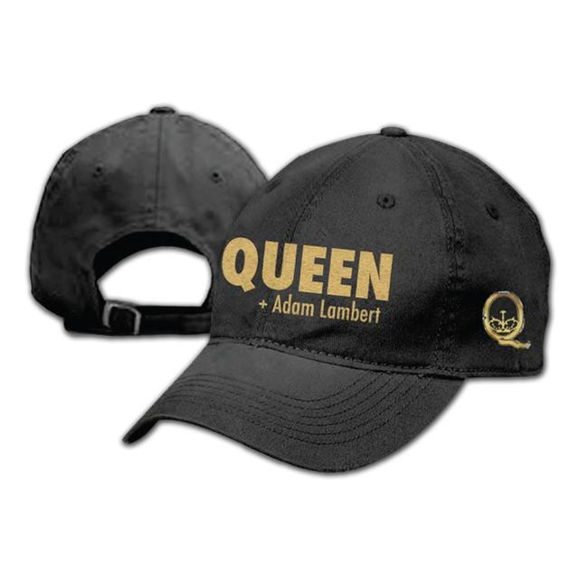 Queen + Adam Lambert Gold Hat