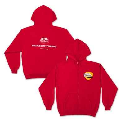 Queen Freddie For a Day Red Hoodie