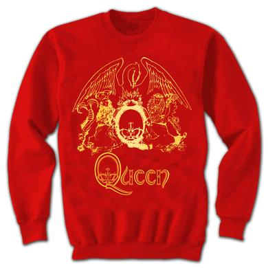 Queen Gold Foil Crest Sweatshirt