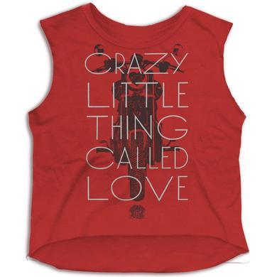 Queen Crazy Little Thing Called Love Girls Tank Top
