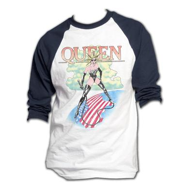 Queen Vintage Tour Raglan