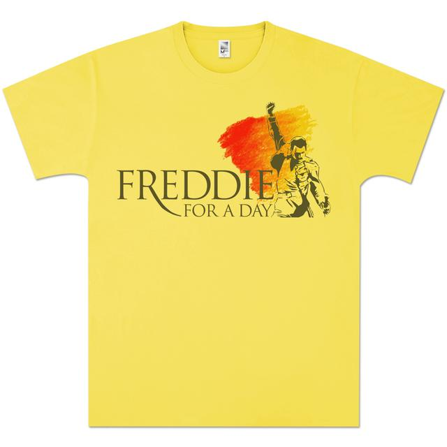 Queen Freddie For A Day Yellow T-Shirt