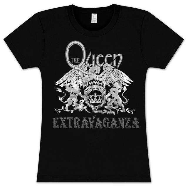 Queen Extravaganza Foil Girlie T-Shirt