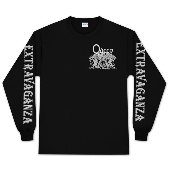 Queen Crest Longsleeve T-Shirt