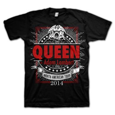 Queen + Adam Lambert Geometric Logo T-Shirt