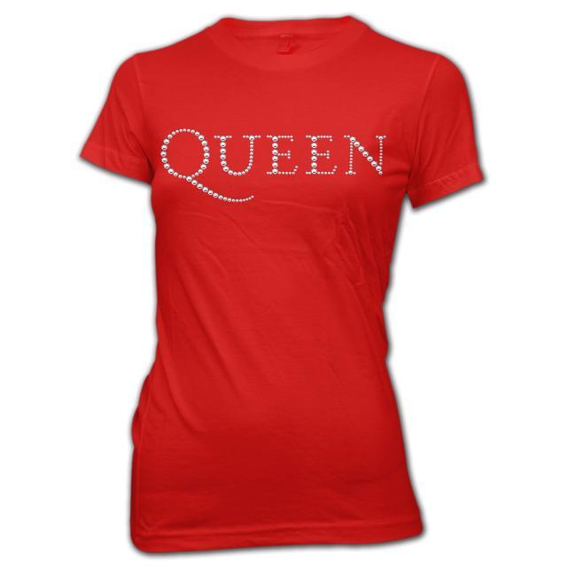 Queen Rhinestone Logo Babydoll