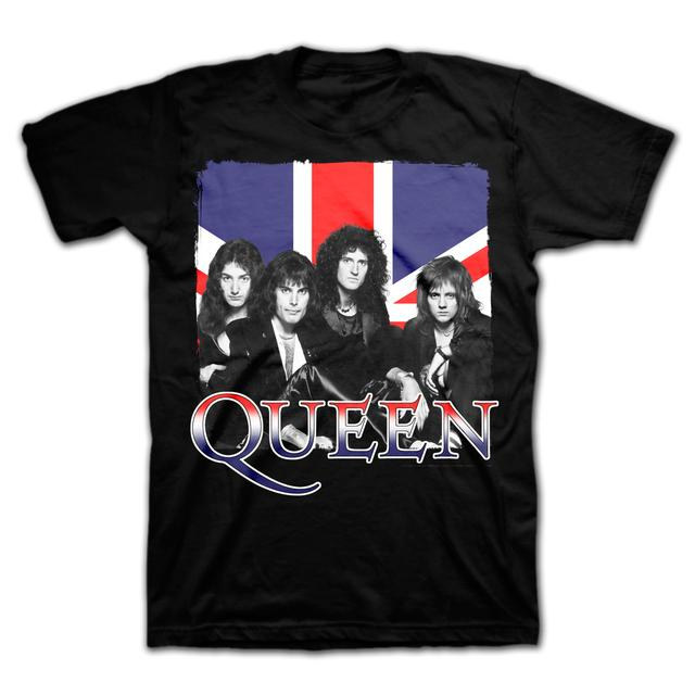 Queen Group Britannia T-Shirt