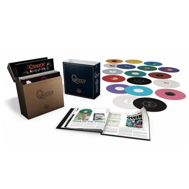 Queen: The Studio Collection (Coloured Vinyl Box Set)