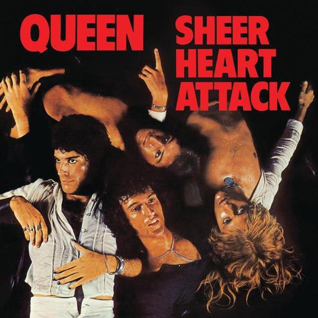 Queen Sheer Heart Attack (Studio Collection) Black Vinyl LP