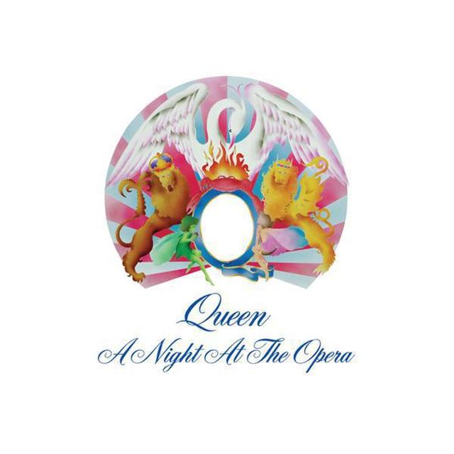 Queen A Night At The Opera (Studio Collection) Black Vinyl LP