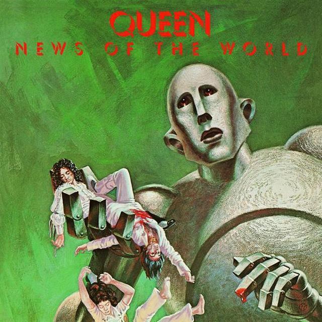 Queen News Of The World (Studio Collection) Black Vinyl LP