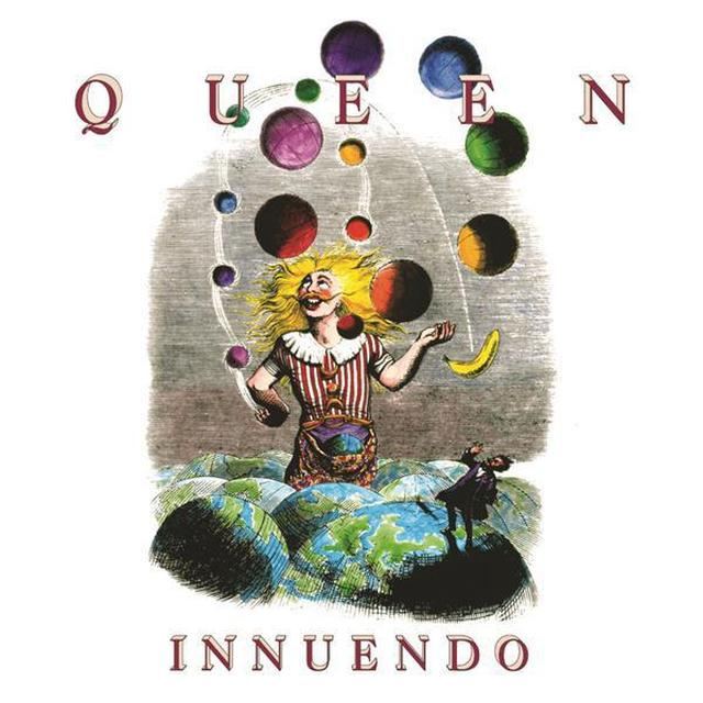 Queen Innuendo (Studio Collection) Black Vinyl LP