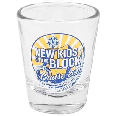 New Kids on the Block 2011 Cruise Wave Shot Glass