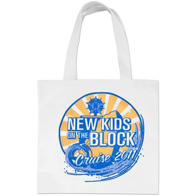 New Kids on the Block 2011 Cruise Wave Tote Bag