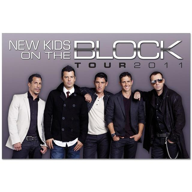 New Kids on the Block Tour 2011 Poster
